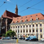 Rincón del centro histórico de Wroclaw en Polonia