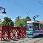 Tranvía en Wroclaw en Polonia