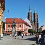 Isla de la Catedral en Wroclaw en Polonia