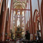 Iglesia de Santa Isabel en la plaza del Mercado de Wroclaw en Polonia