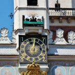 Las populares cabras del ayuntamiento renacentista de Poznan