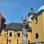 Rincón del centro histórico de Poznan en Polonia