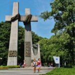 Monumento conmemorativo en el centro de Poznan