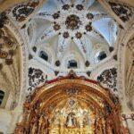 Interior de iglesia del antiguo convento de San Francisco en Medina de Rioseco