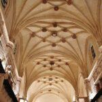 Techo de iglesia del antiguo convento de San Francisco en Medina de Rioseco
