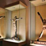 Obras artísticas en museo de San Francisco en Medina de Rioseco