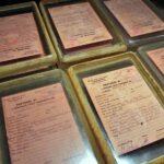 Documentos en el museo de la Insurrección de Varsovia en Polonia