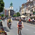 Ruta Real en el centro histórico de Varsovia