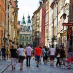 Rincón de la Ciudad Antigua de Varsovia