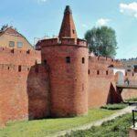 Muralla de la antigua Ciudadela de Varsovia