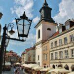 Rincón de la Ciudad Nueva de Varsovia