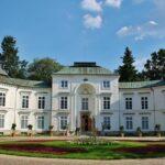 Palacio en el parque Lazienki de Varsovia