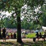 Conciertos de música de Chppin en el parque Lazienki de Varsovia