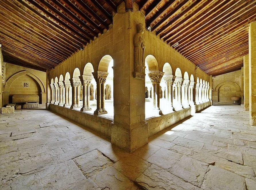 Claustro de San Pedro el Viejo en Huesca