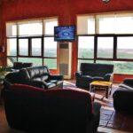 Salón del hotel La Estacada en Tarancón en Cuenca