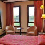 Habitación standar del hotel La Estacada en Tarancón en Cuenca