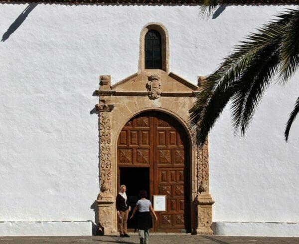Iglesia de Santa María de Betancuria en Fuerteventura