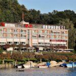 Hotel a orillas del Lago Lucerna en Suiza