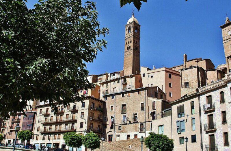 Centro histórico de Tarazona en Aragón