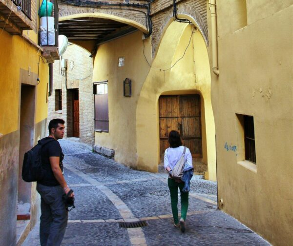 Rincón del centro medieval de Tarazona