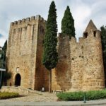 Castillo de Alter do Chao en la región de Alentejo en Portugal