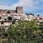 Vista panorámica de Castelo de Vide en Alentejo en Portugal