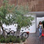 Entrada al Ecork Hotel en Evora en Alentejo Portugal