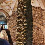 Capilla de los Huesos en Evora en Alentejo en Portugal