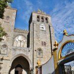 Catedral de Evora en Alentejo en Portugal