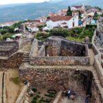 Vistas del Marvao desde el castillo, en Alentejo en Portugal