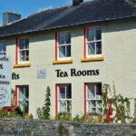 Ballinahown Tea Room en la costa atlántica de Irlanda