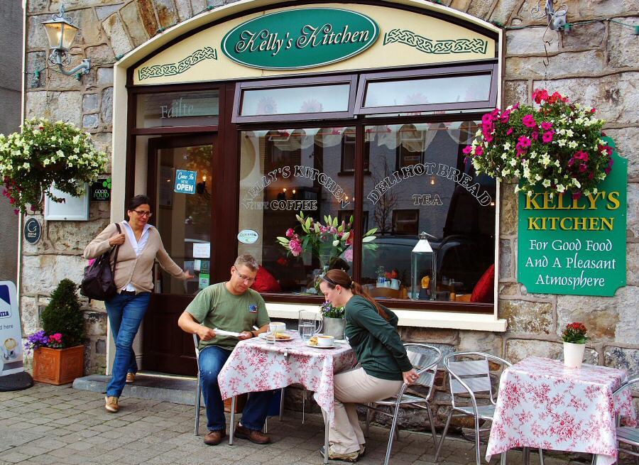 Kellys Kitchen en Newport en la costa atlántica de Irlanda