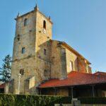 Iglesia de Loiu en la comarca de Uribe cerca de Bilbao