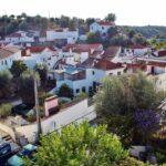 Vista panorámica de Brotas en el Alentejo de Portugal