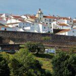 Vistas de Marvao en la región del Alentejo en Portugal