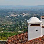 Vistas panorámicas desde Marvao en Alentejo en Portugal