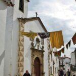 Iglesia del Espíritu Santo en Marvao en Portugal