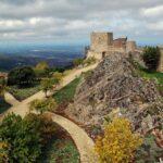 Murallas del castillo de Marvao en el Alentejo de Portugal