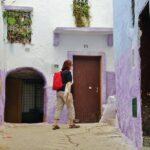 Rincón de la Medina de Tetuán en Marruecos