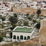 Cementerio árabe de Tetuán junto a la muralla de la Medina