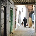 Pasaje en la Medina de Tetuán en Marruecos