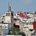 Panorámica de la Medina de Tetuán desde una terraza