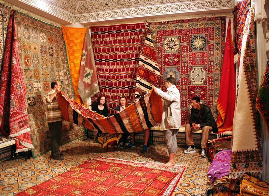 Comprar alfombras en marruecos gu as viajar - Casas marroquies ...