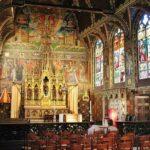 Basílica de la Santa Sangre en la plaza Burg de Brujas