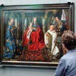 Pinturas de primitivos flamencos en el museo Groeninge de Brujas