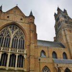 Catedral de San Salvador en Brujas en Flandes
