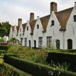 Antiguas Casas de Caridad en Brujas en Flandes