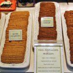 Galletas típicas en una tienda de Brujas en Flandes