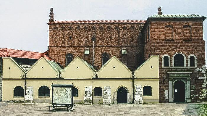 Sinagoga Vieja en Cracovia en Polonia