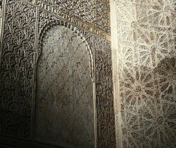 Rincón interior de la Sinagoga en la Judería de Córdoba